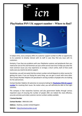 playstation customer support number-4