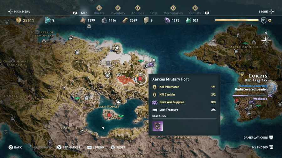 assassin's creed odyssey lokris fort-0