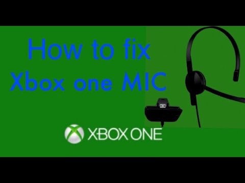 xbox one mic not working-2