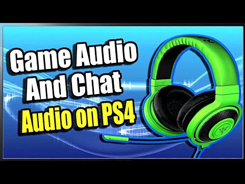 ps4 sound through headset and tv-1