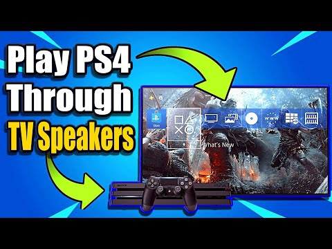 ps4 sound through headset and tv-3