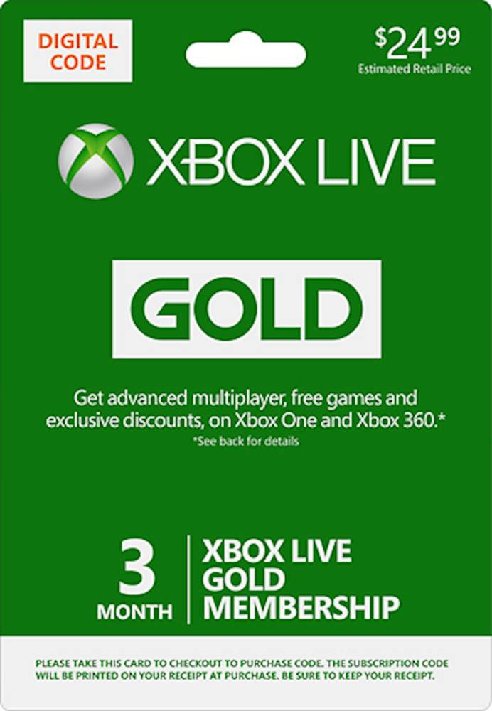 xbox one live gold-3