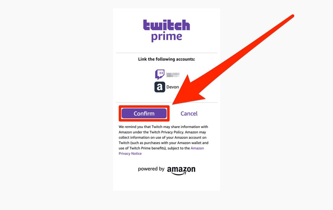 how to link amazon prime to twitch-2