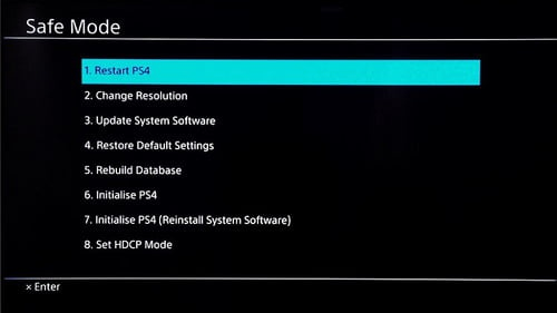 how to restart ps4-2