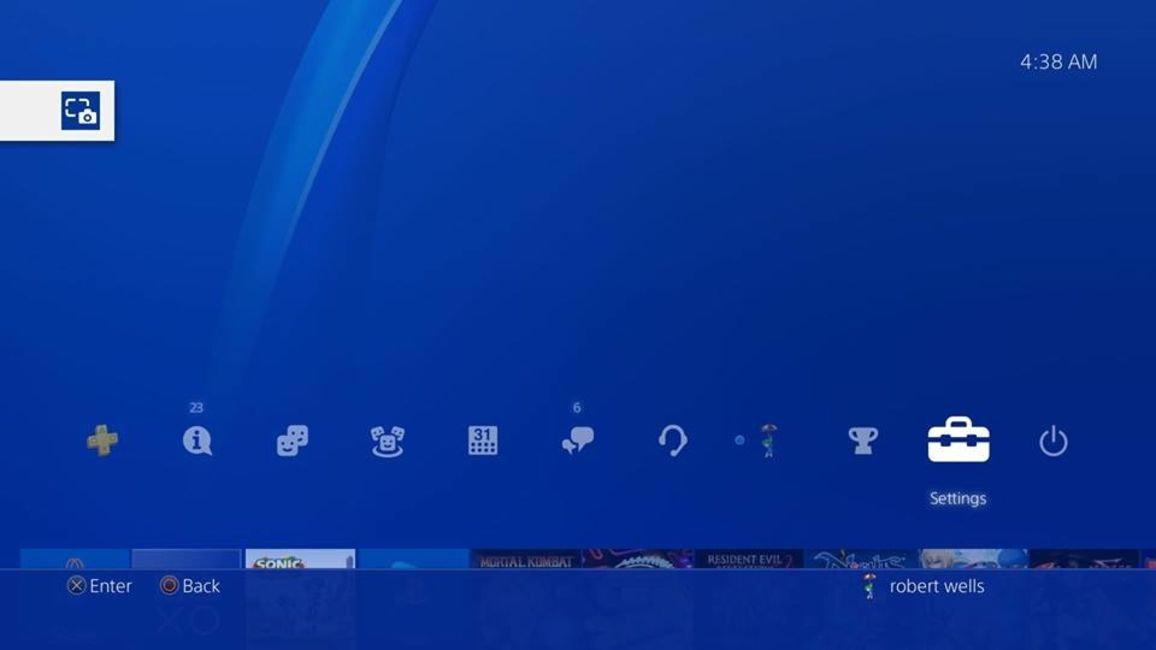 how to restart ps4-4