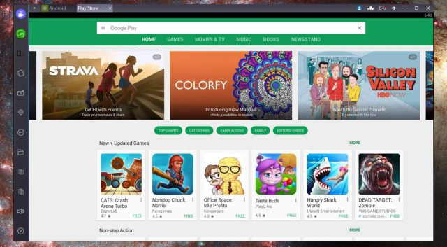 google play for windows-8