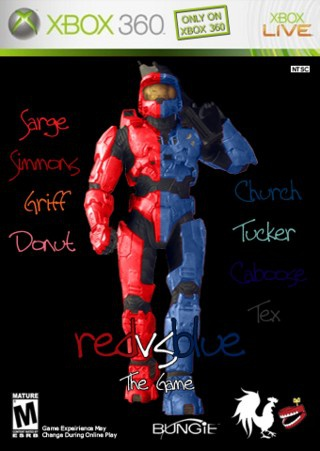 red vs blue game-4