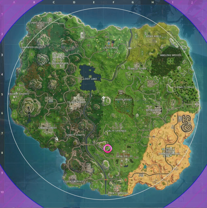 fortnite all clay pigeon locations-7