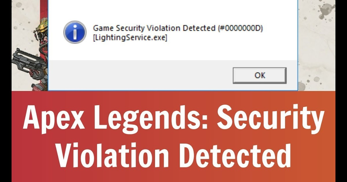 fortnite game security violation detected lightingservice.exe-7