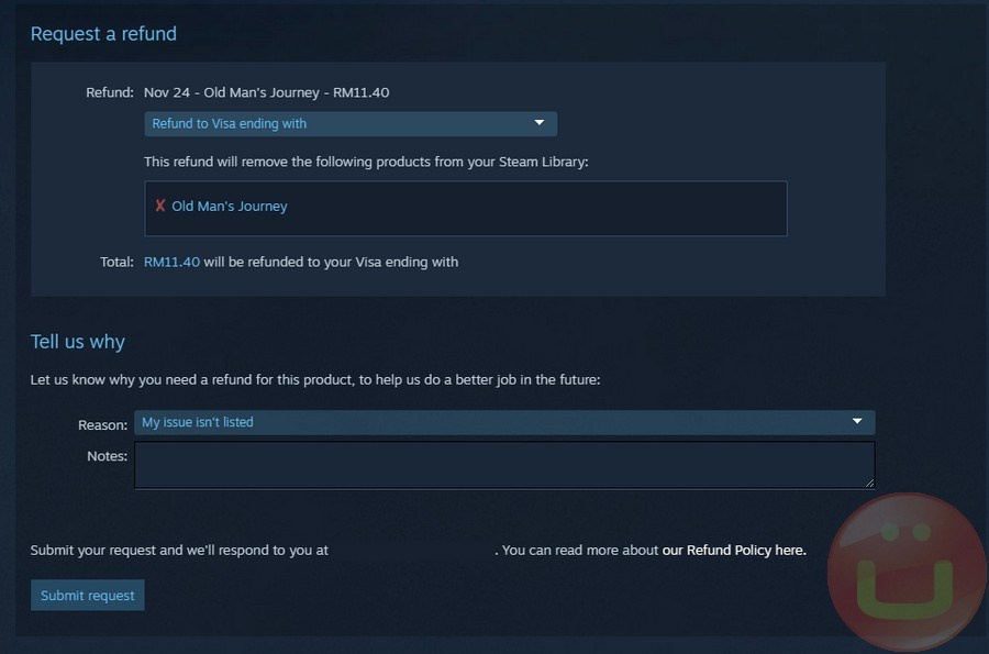 steam how to get a refund-4