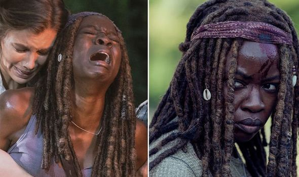 the walking dead michonne-5