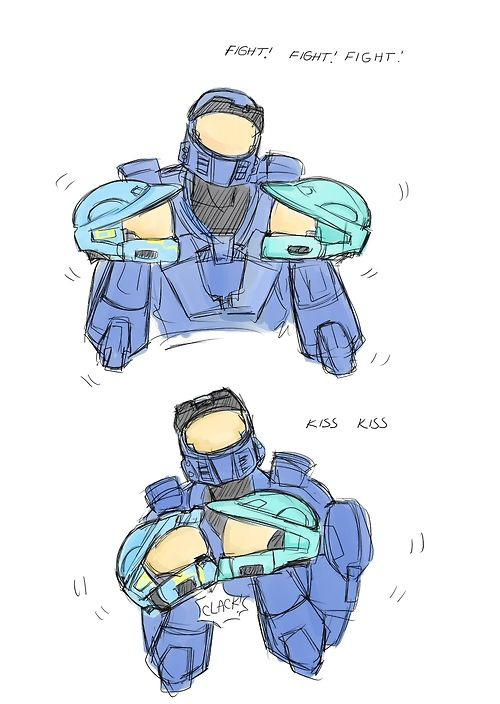 is red vs blue over-7